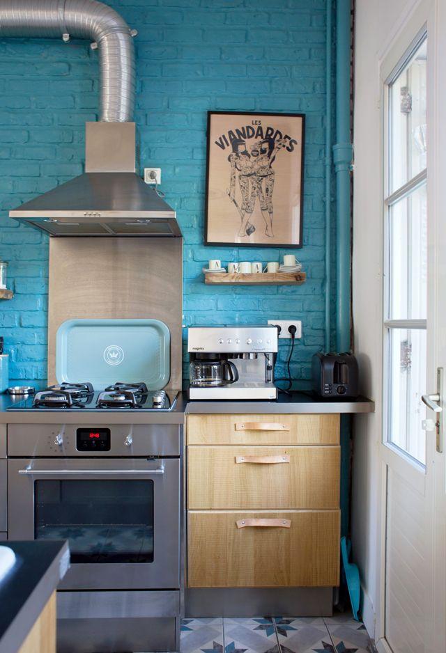 Chez Milène, Saint Ouen Paris - Inside Closet Kitchen inspiration
