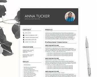 Modern Resume Template Cv Template Professional And Creative Resume Teacher Resume Word Resume Instant Download Resume Template Cv Template Modern Resume Template
