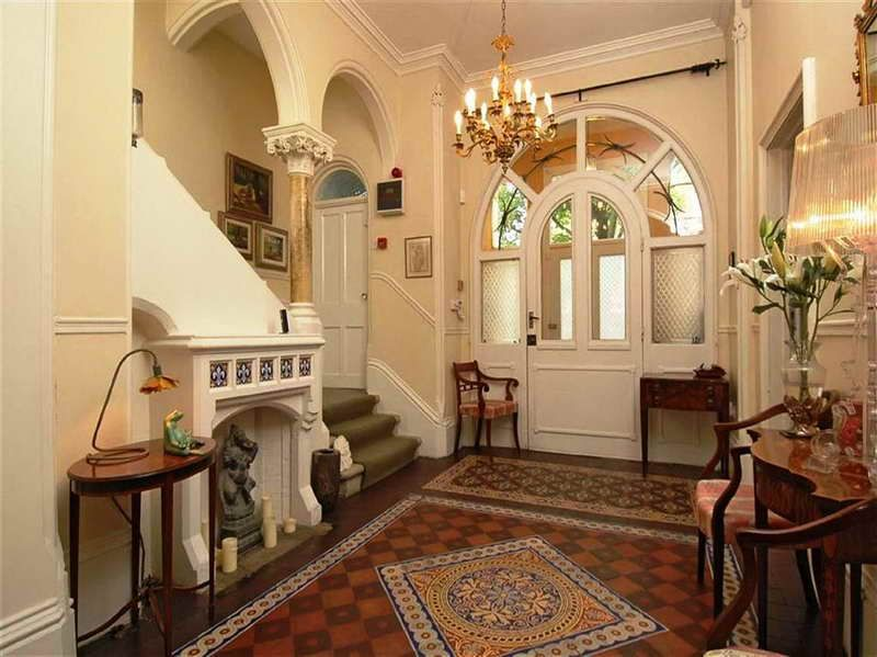 Inside Victorian Homes Pictures With Hanging Light