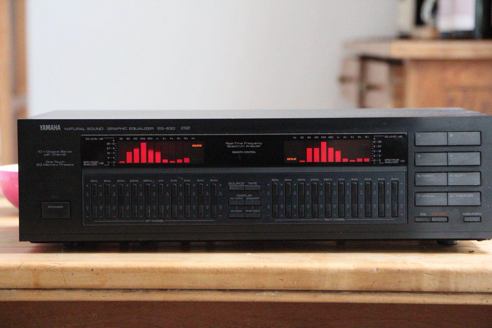 Yamaha Eq630 Vintage Audio Love Yamaha Audio Hifi Audio Hifi