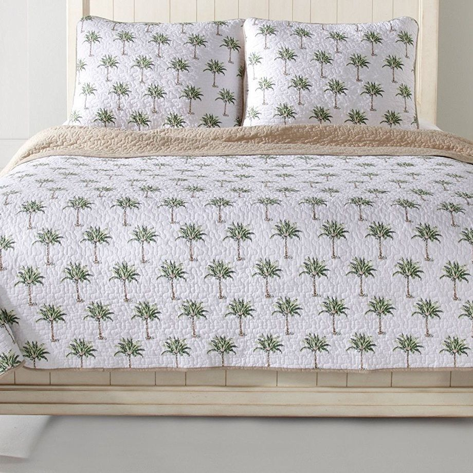 Palm Tree Bedding Sets! Discover The Best Palm Tree Comforters, Quilts,  Duvet Covers