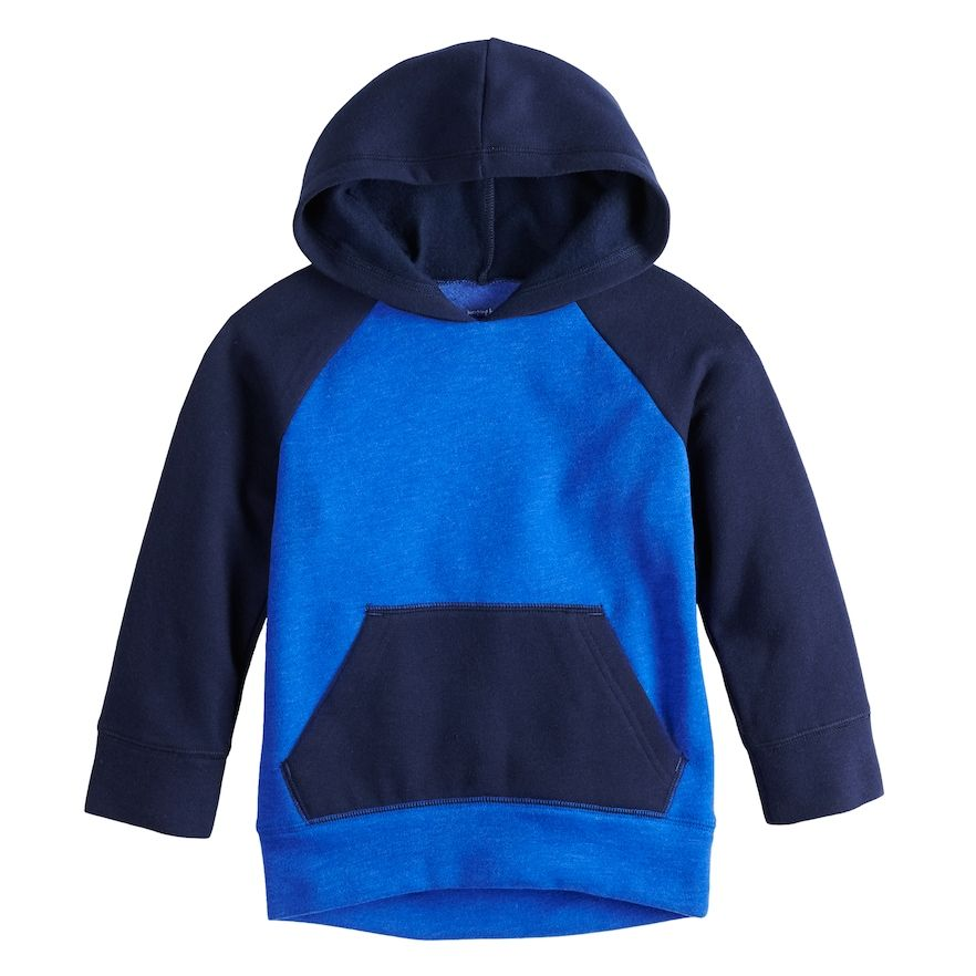 c759c2f88 Toddler Boy Jumping Beans® Raglan Softest Fleece Pullover Hoodie in ...
