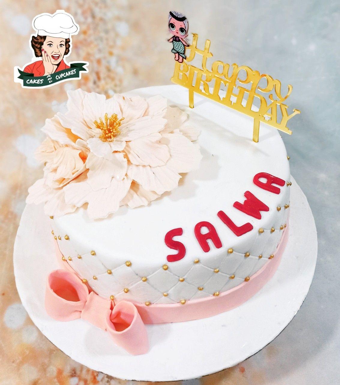 #poneycake #flowercake #cakesbahrain