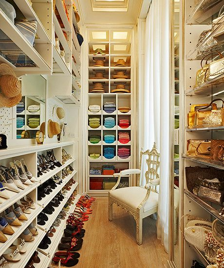 Get these parts of your closet in order, and your world will change. Promise.