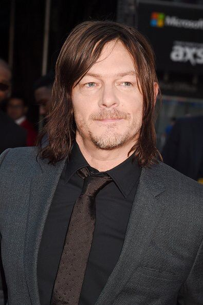 #NormanReedus at the 2015 #AMAs #TWD