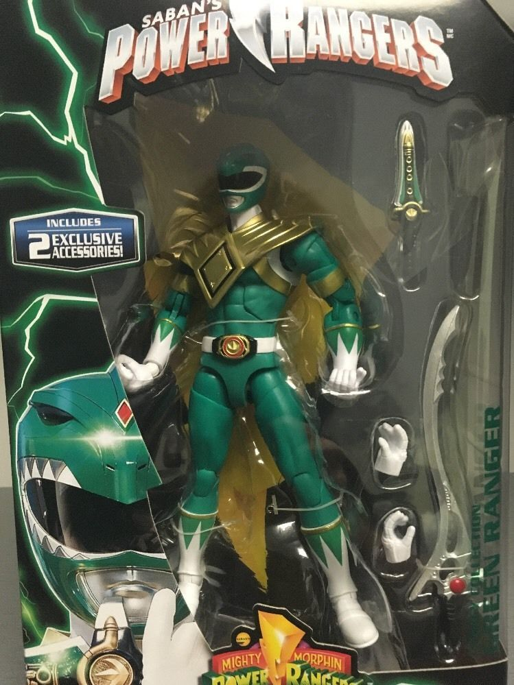 4ed72910e01 GREEN RANGER Mighty Morphin Power Rangers Legacy 6