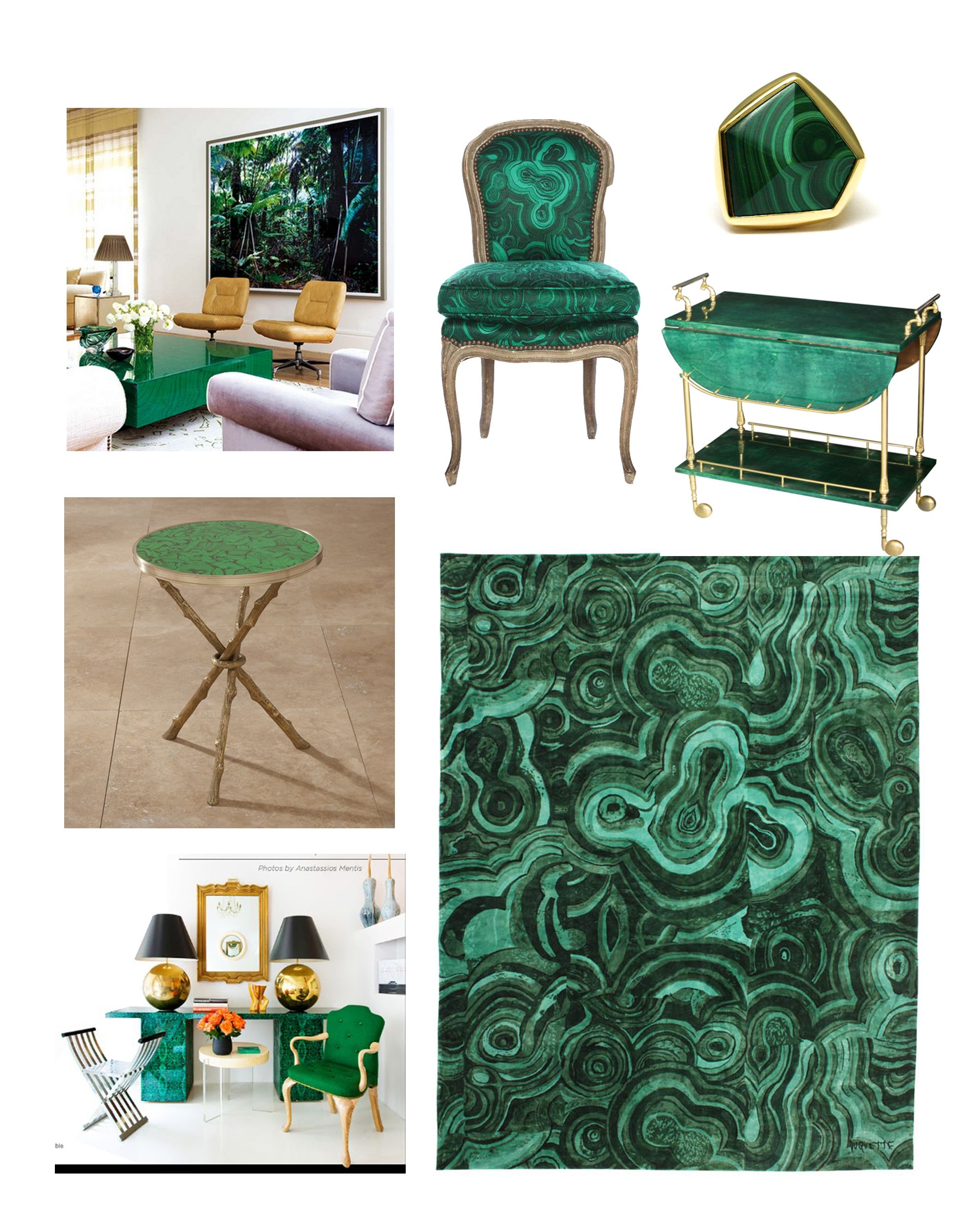 Malachite Objects For The Home Like The Chair Malachite