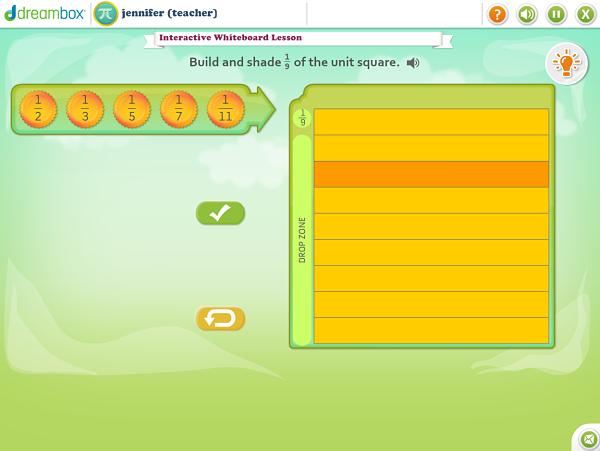 Free DreamBox K-8 math virtual manipulatives to use with any