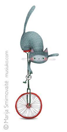 CATS on Behance ~*~ Marija Smimovaite