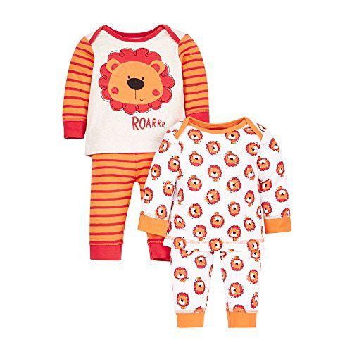 Mothercare Boy s Little Lion-2 Pack Pyjama Sets c40c2b82f