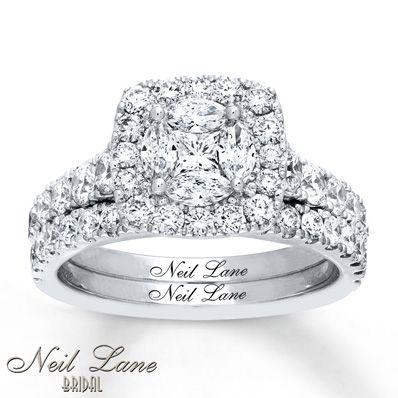 Neil Lane Diamond Band 1-1/6 carats tw 14K White Gold GxfK1LBC