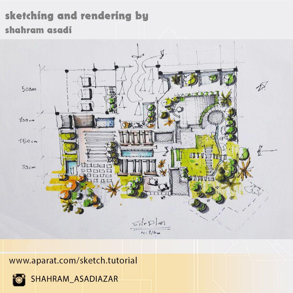 site plan sketch | sketch | Pinterest | Site plans