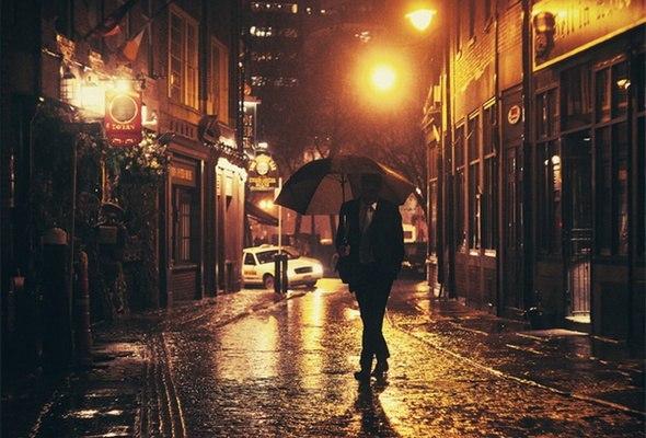 огни ночного города фото - Пошук Google | Город, Зонтик, Улица