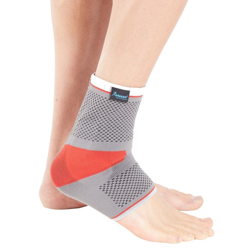 Actesso #sports ankle support #sleeve with silicone insert - #tennis gym boxing ,  View more on the LINK: http://www.zeppy.io/product/gb/2/252650669006/