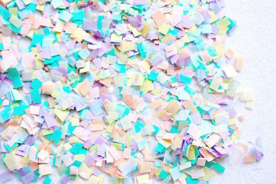 827d789936e1d Pastel rainbow unicorn confetti, confetti toss photo shoot, unicorn ...