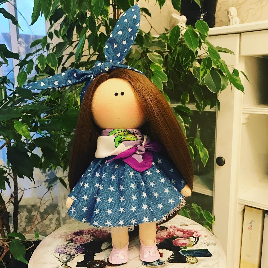 """26 Me gusta, 3 comentarios - @dear_dolls_by_claire en Instagram: """"#куклы#кукларучнойработы#текстильнаякукла#интерьернаякукла#куклыищутдом#toys#doll#dollhouse#dear_dolls_by_claire#handmade"""""""