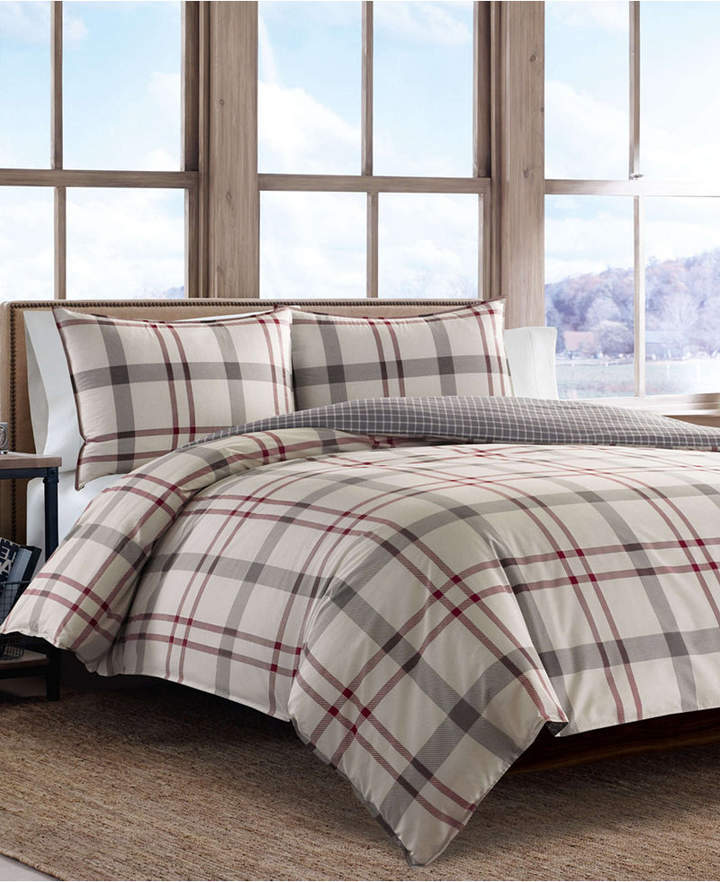 Eddie Bauer Portage Bay Duvet Cover Set Full Queen Bedding Sets