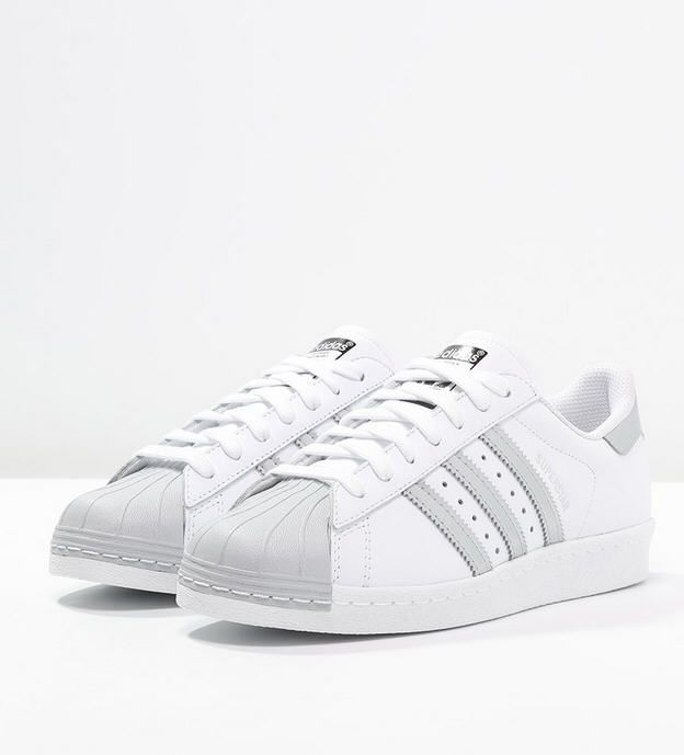 plus récent ef0fa beea6 Adidas Originals SUPERSTAR Baskets basses white/silver ...