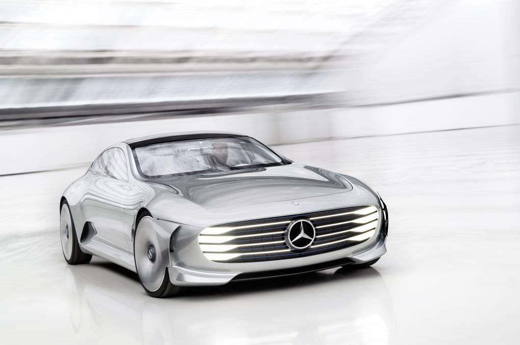 Salon de Francfort 2015 : MercedesBenz Concept IAA #car #voiture #mercedes #conceptiaa #iaa2015