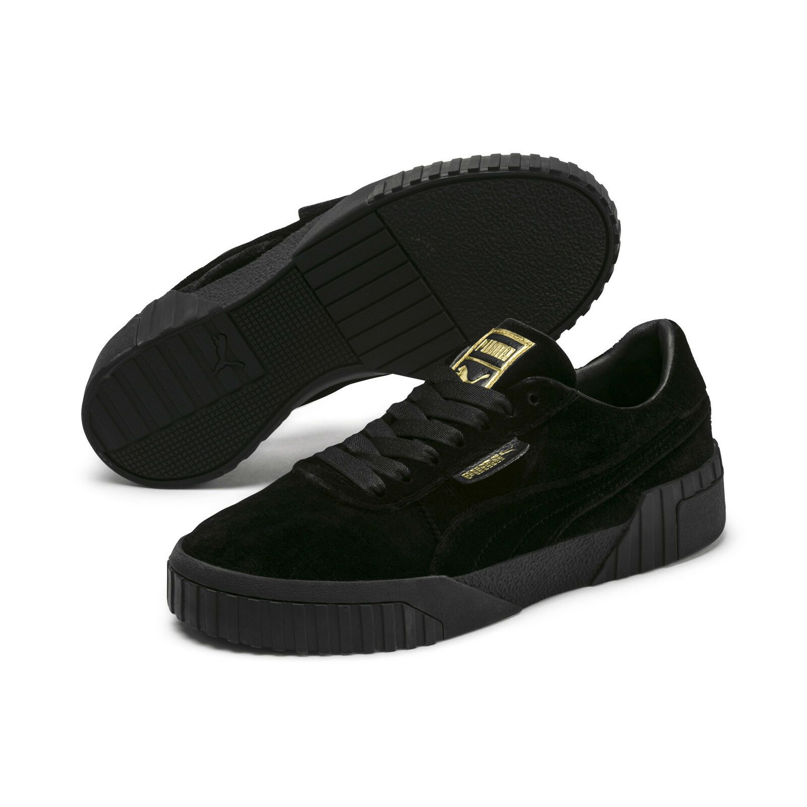 PUMA Women's Cali Velvet Sneakers in