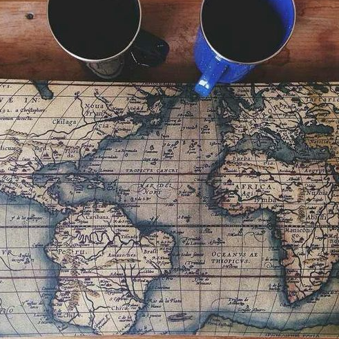 Coffee from around the world nectar of the bean pinterest coffee from around the world old world mapsplaces to traveltravel gumiabroncs Images