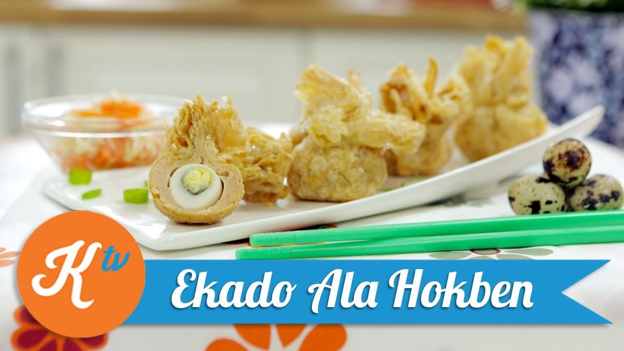 Resep Ekado Ala Hokben Yuda Bustara Telur Gulung Makanan Resep Makanan