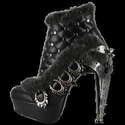 Agnes Steampunk Heels