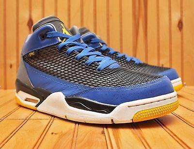 Nike Air Jordan Flight Club 80#39;S Size 12 - Royal Maize Cool