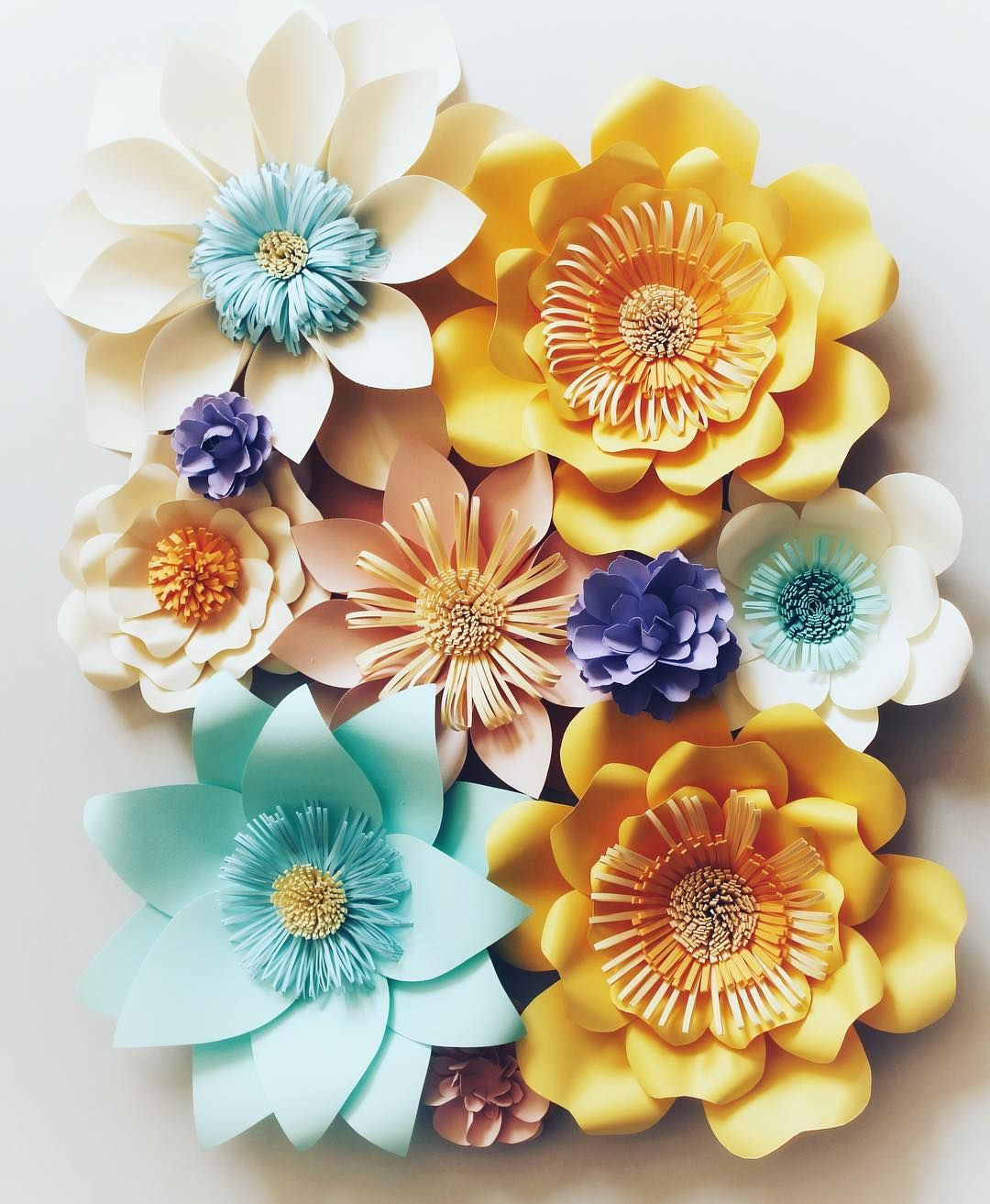 New Paper Flowers For Birthday Party Backdrop Paperdecor