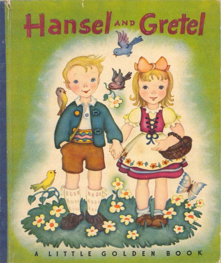 A Little Golden Book. Hansel and Gretel 1945
