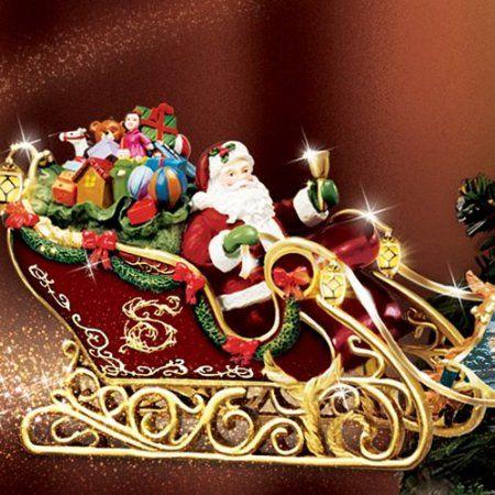 Amazon.com: Thomas Kinkade Holidays in Motion Rotating Illuminated  Treetopper: Animated Christmas Decor by The Bradford Editions: Home &  Kitchen - Amazon.com: Thomas Kinkade Holidays In Motion Rotating Illuminated
