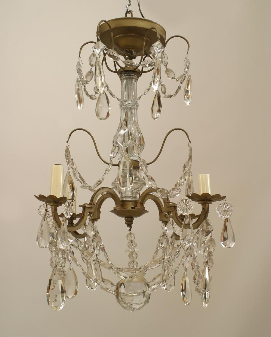 French victorian lighting chandelier metal victorian pinterest french victorian cent 4 metal arm chandelier with crystal swags shaped drops and a ball finial bottom arubaitofo Choice Image