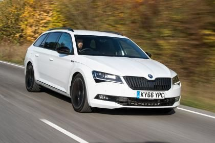 Skoda Superb Sportline Estate Front Skoda 5 Car Garage Cars