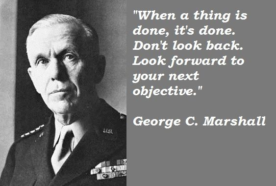 General George Marshall Quotes