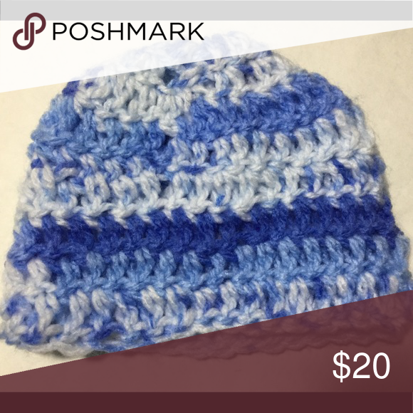 Beanie Crochet hat for newborns 0-6 months old Looking for a perfect winter  hat for your baby  Look no further this hat is made from 100 % Acrylic yarn  to ... 231427243e7