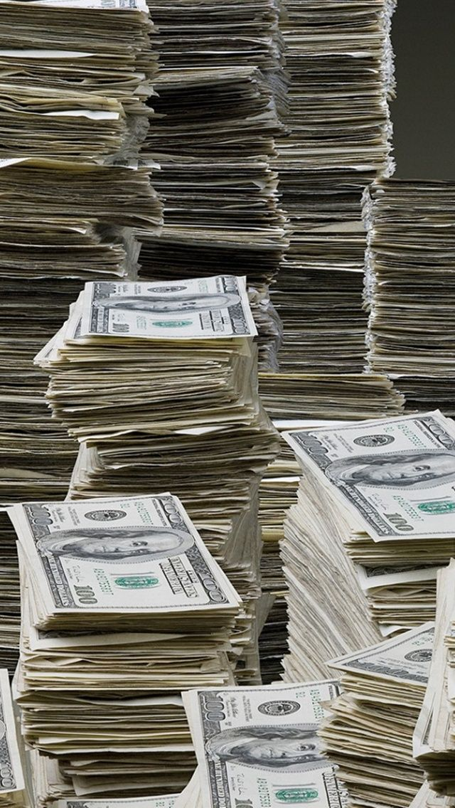 Rich iPhone 5 Wallpapers Money cash, Money stacks, Money