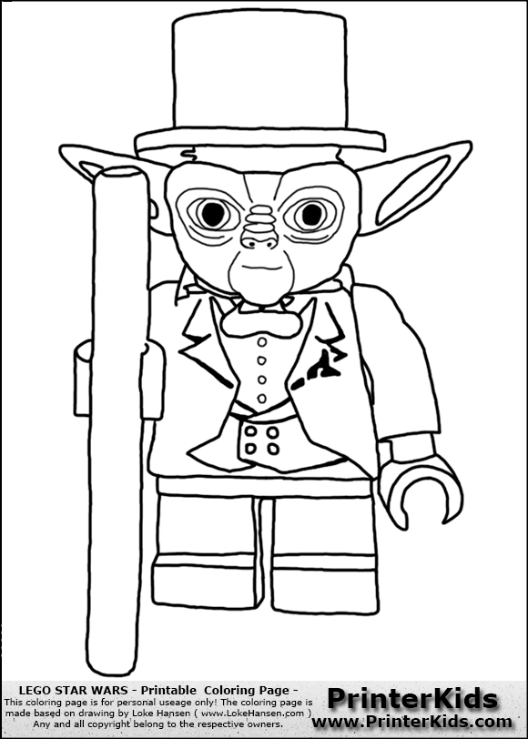 lego star wars tuxedo yoda flipped coloring page preview ...
