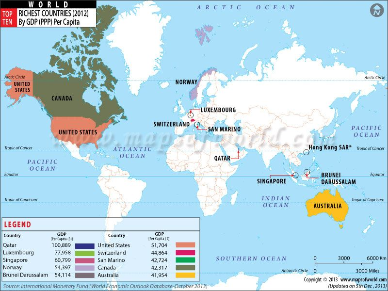 Meet the richest countries of the world map rich travel buy top ten richest countries map online world map showing top ten richest country of world by gdp ppp per capita gumiabroncs Images