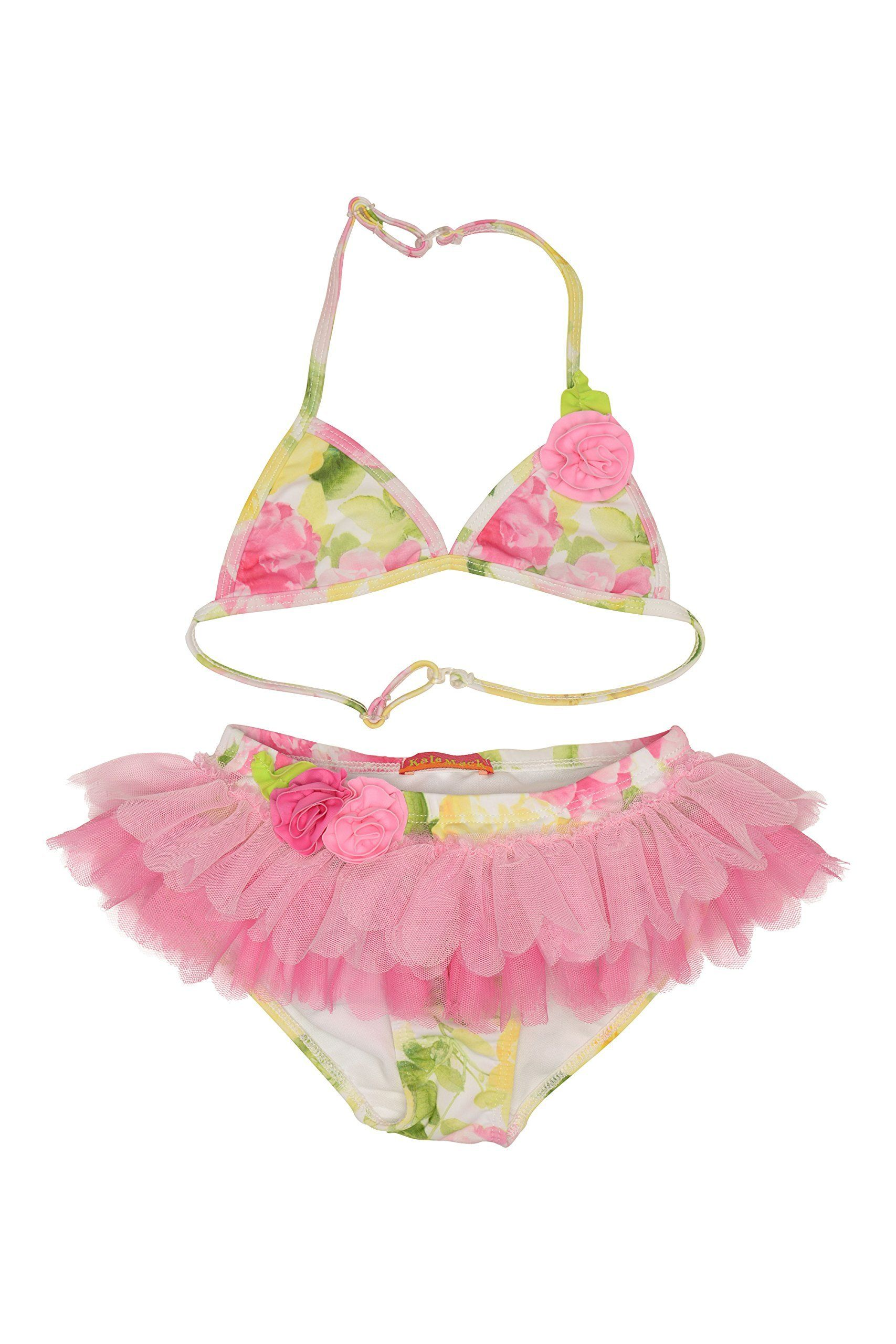 Kate Mack Girls 2-6X Rose Crush Skirt