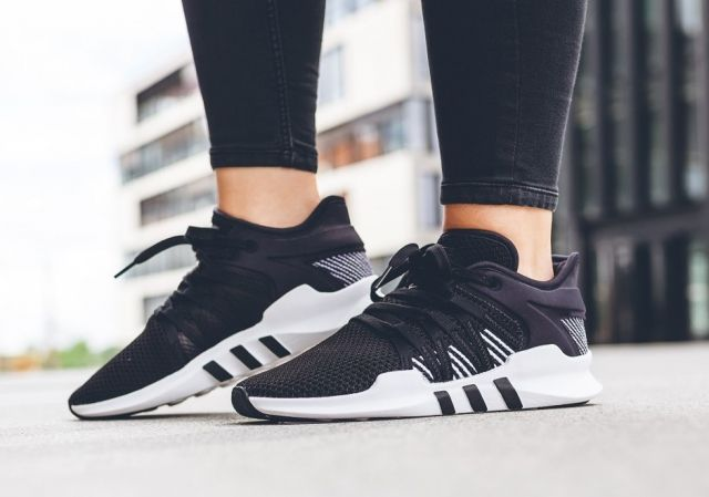 new styles d5f72 b286c adidas EQT Support ADV Black Stripes Womens  BY9795 Release Date August  23, 2017 Price 160 Color Core Black  Core Black  Footwear White Size  run ...