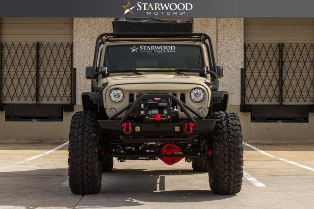 2017 Jeep Wrangler Unlimited Custom Exo Cage Teraflex 6 Long Arm