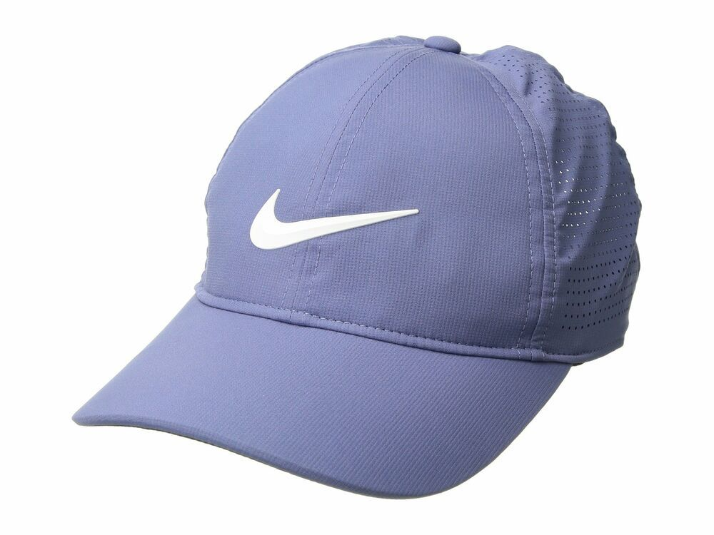 418aab5a8 NIKE Womens AeroBill Legacy 91 Leightweight Hat Cap Purple Slate ...