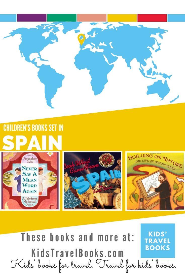 Map Of Spain For Children.Children S Books Set In Spain Spain For Kids Childrens Books