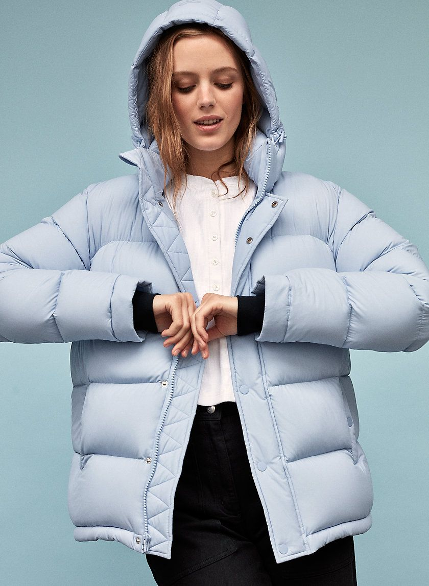 The Super Puff Cold Outfits Puffer Jacket Women Super Puff [ 1147 x 840 Pixel ]