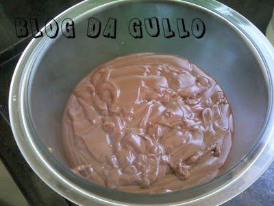Blog Da Gullo Creme De Chocolate Tipo Danette 1 Litro De Leite