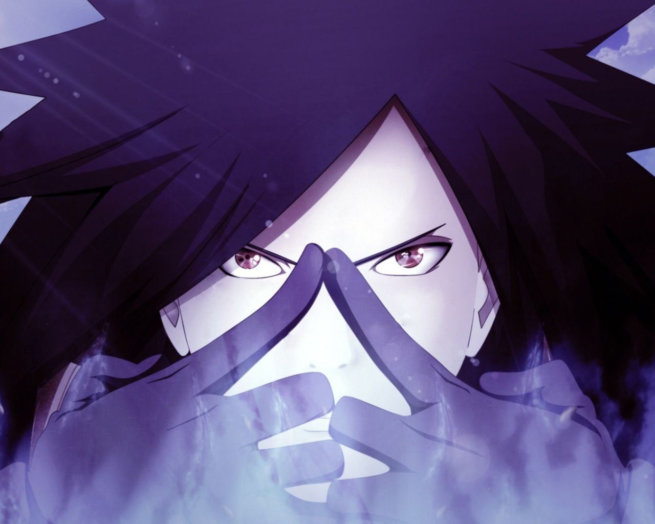 1280x1024 wallpaper madara uchiha, naruto, anime, obito, tobi