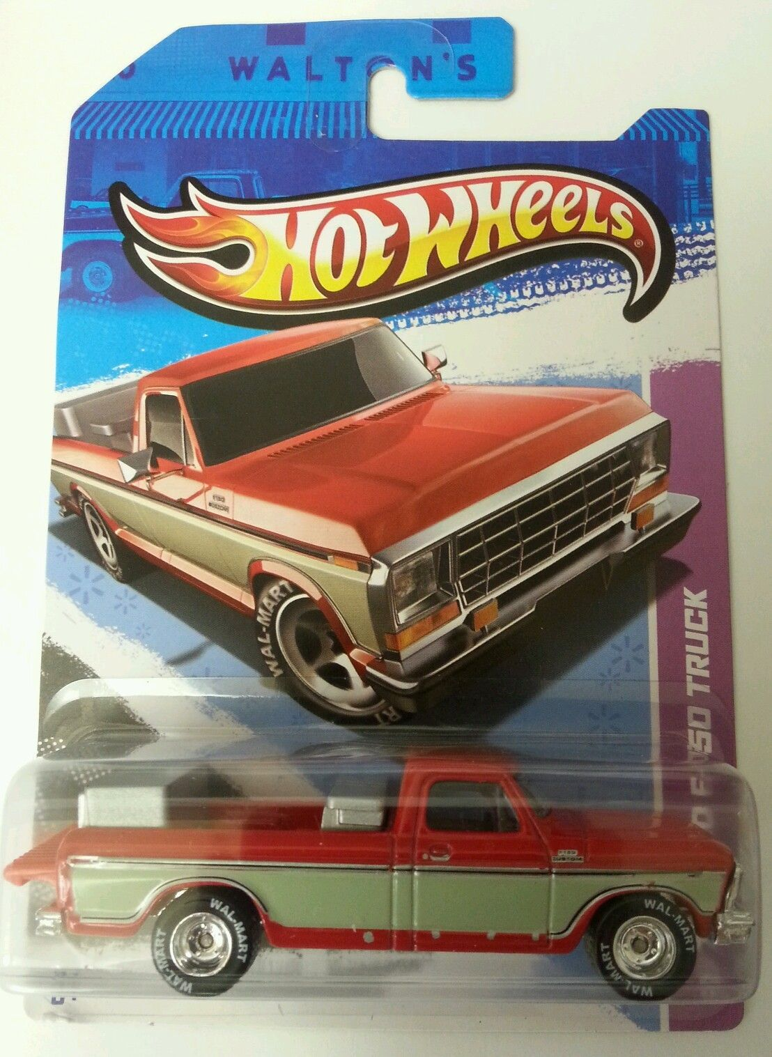 2013 hot wheels 1979 ford f 150 truck walmart exclusive vhtf real rider tires sam