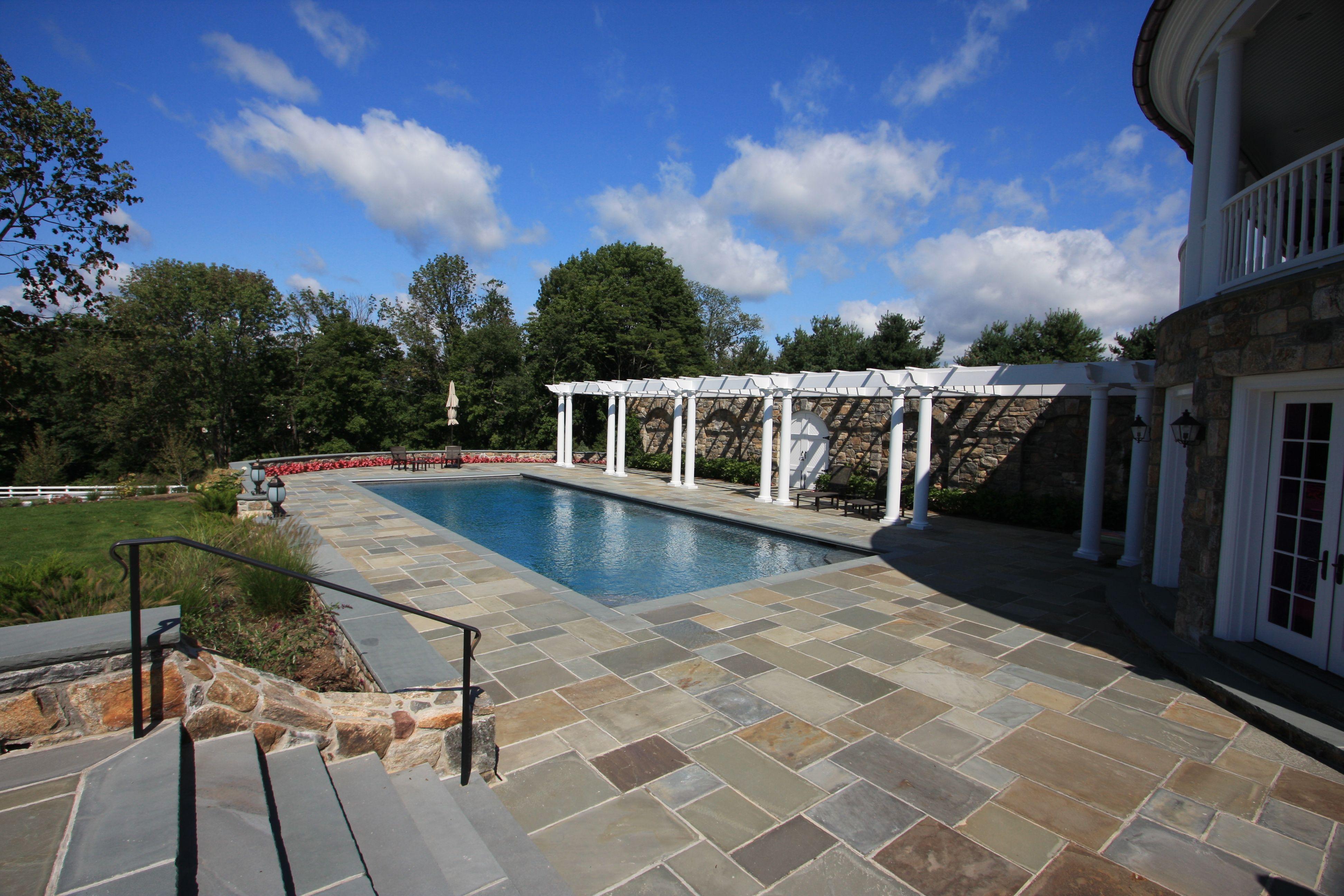 Pool Patio And Pergola Design By Conte U0026 Conte, LLC Landscape  Architects/designers In