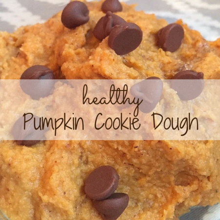 Day 5 of 31 Days of Fall: Pumpkin Cookie Dough