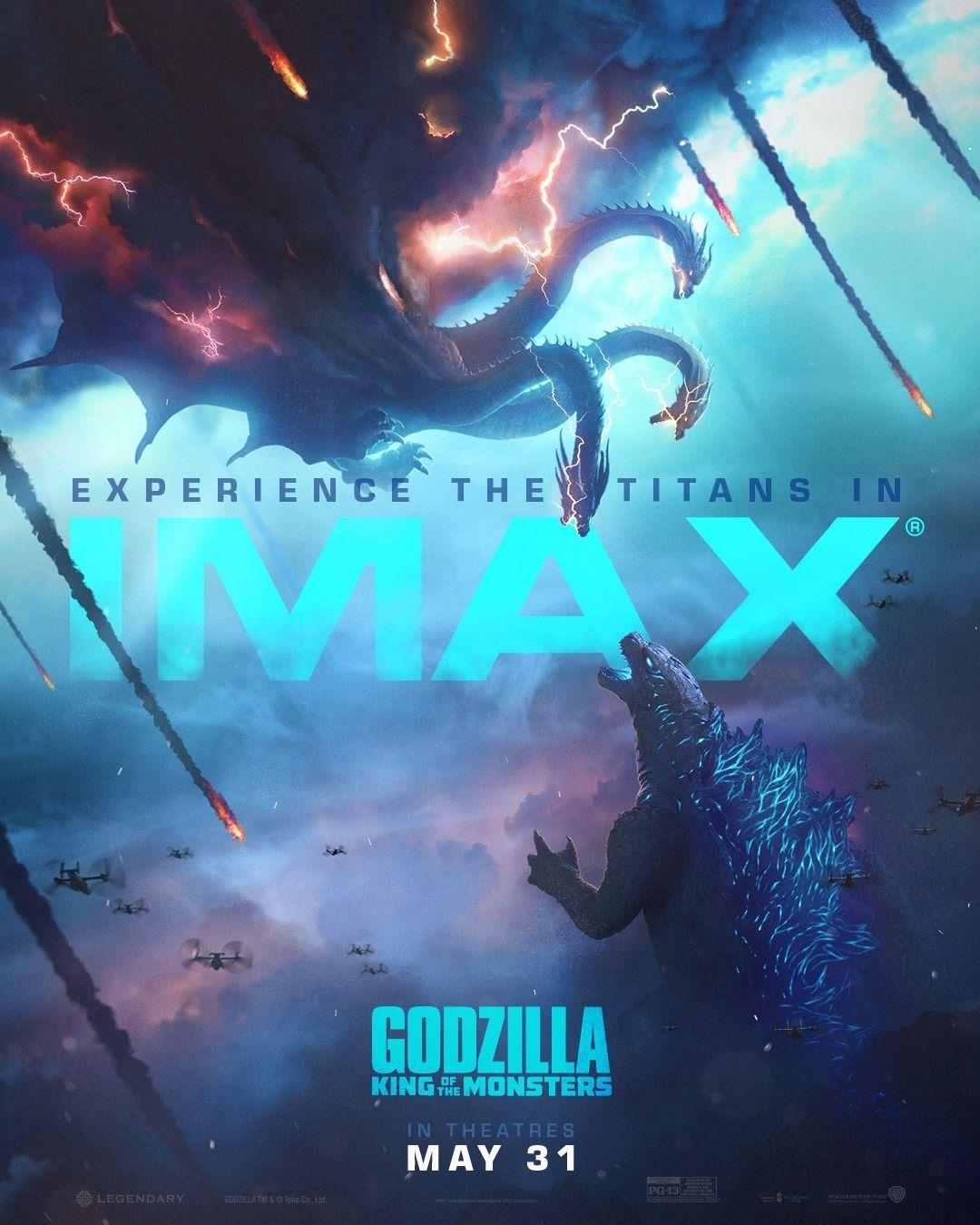 Godzilla King Of The Monsters 2019 Godzilla Godzilla 2 Movie Monsters